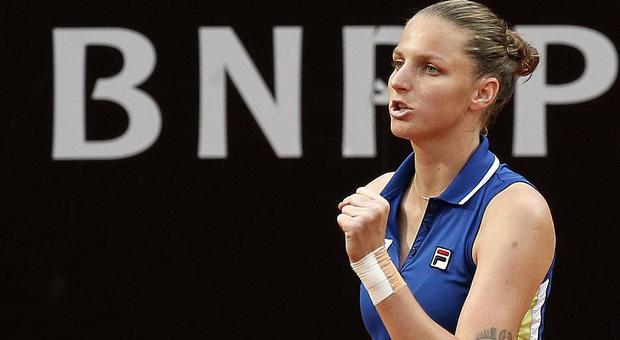 Karolina Pliskova in finale al Foro Italico