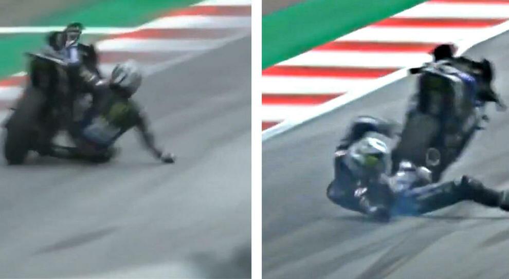 MotoGp Stiria, Yamaha senza freni: Viñales si lancia a oltre 300 km/h. Gara sospesa e ripresa