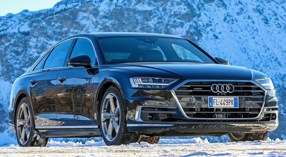 La A8, ammiraglia ipertecnologica di Audi