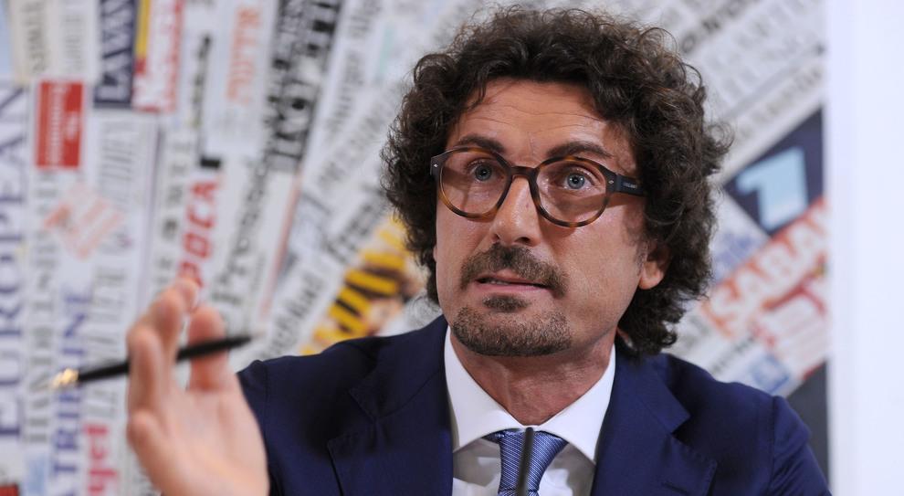 Danilo Toninelli, ministro delle infrastrutture e trasporti