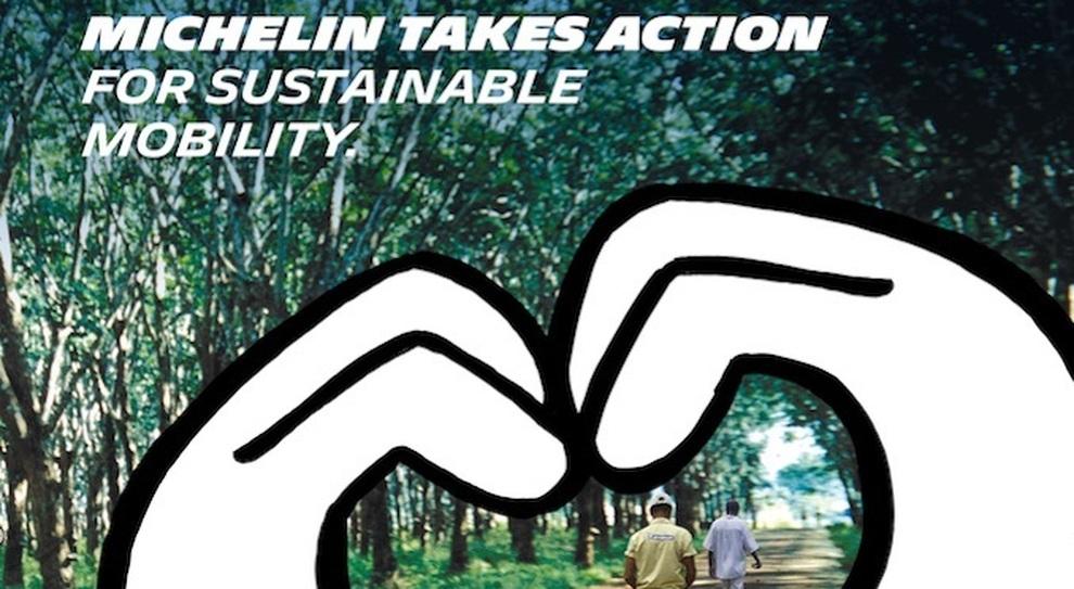 Michelin sempre più ecologica, entro il 2048 il 100% degli pneumatici sarà riciclato
