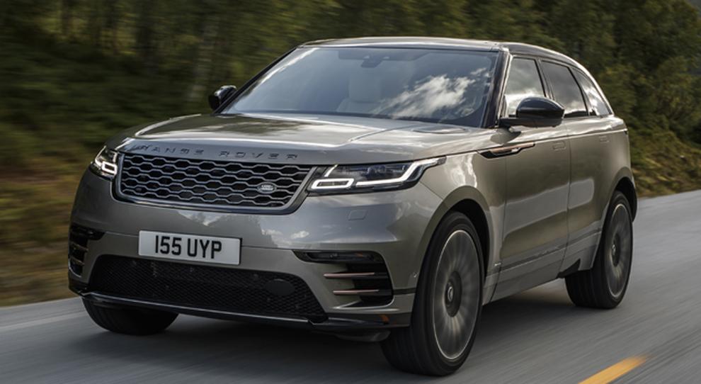 Il debuttante Range Rover Velar