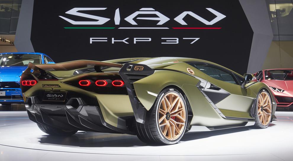 La Lamborghini Sian