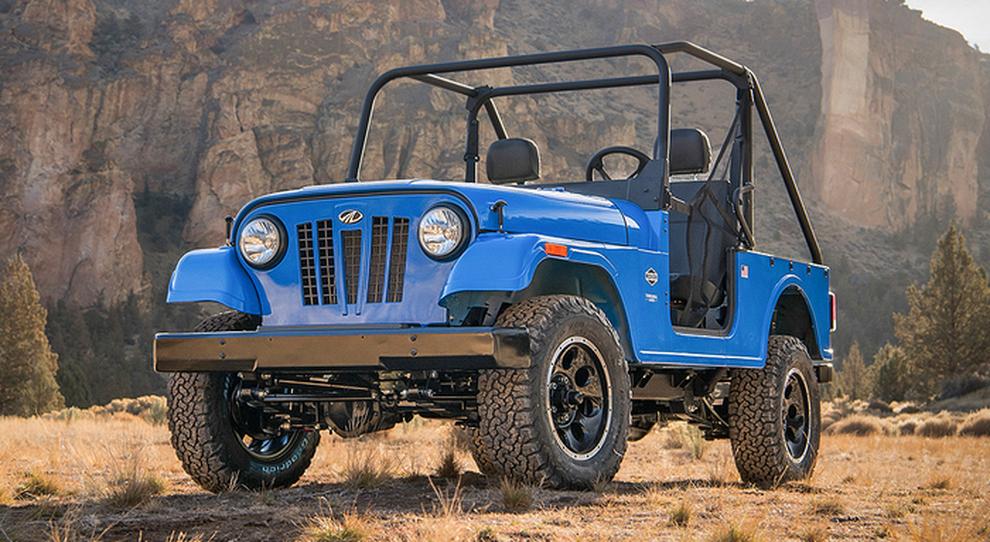 L'ATV Roxor della Mahindra costruito a Detroit