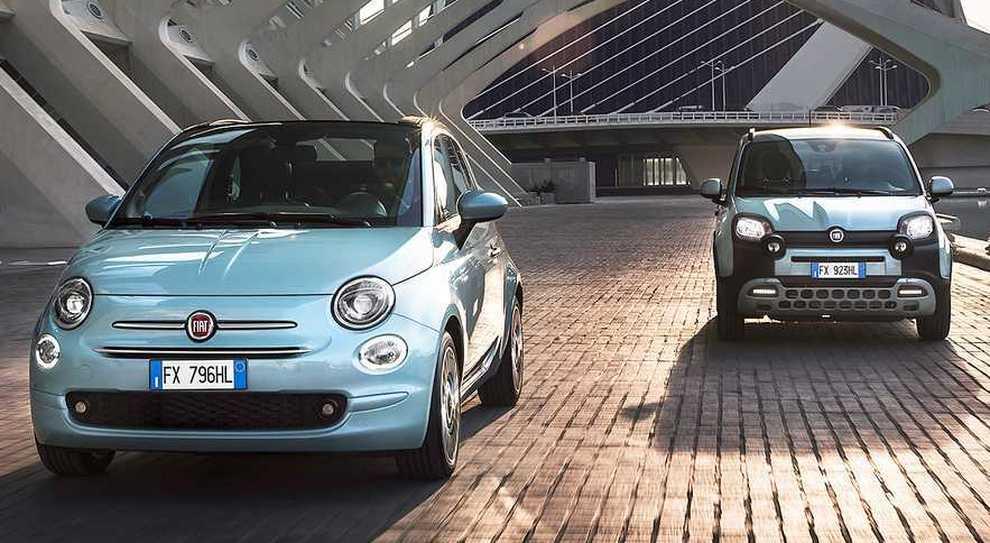 Fiat 500 e Panda in versione mild hybrid