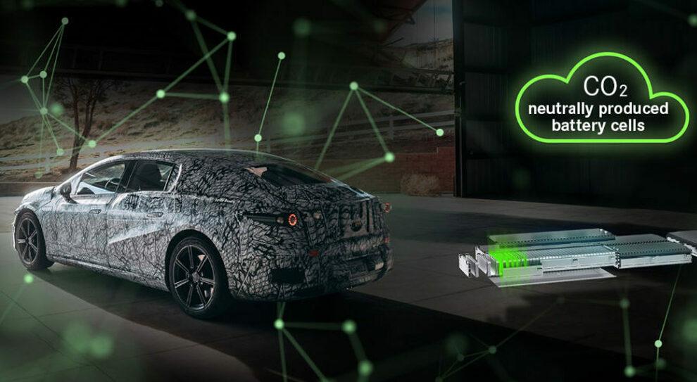 Una Mercedes elettrica alimentata con batterie Catl