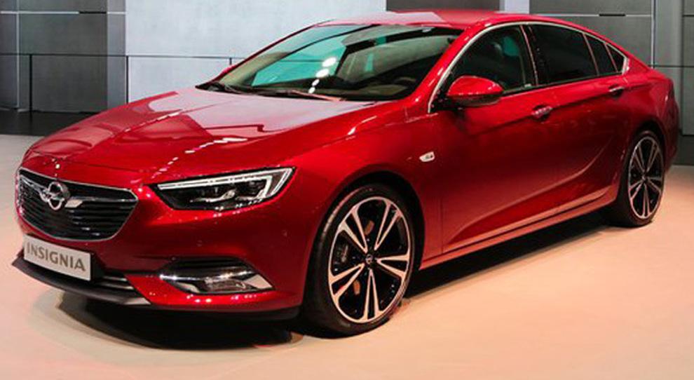 La Opel Insignia esposta a Ginevra