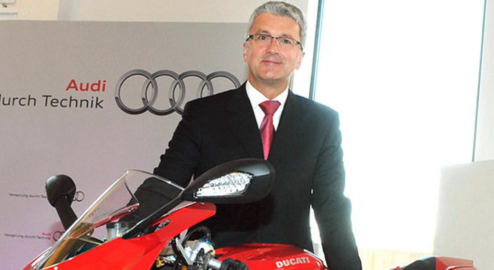 Rubert Stadler, ceo di Audi