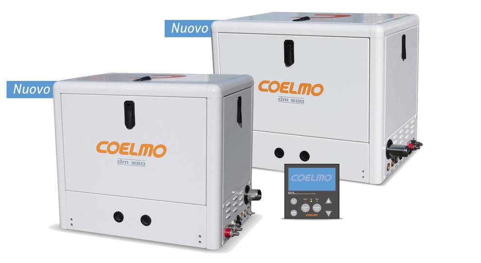I generatori Coelmo raffreddati con acqua di mare