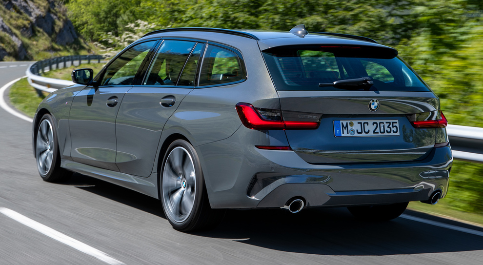 La BMW Serie 3 Touring
