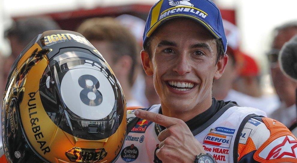 Moto Gp: Marc Marquez campione del mondo per l'ottava volta