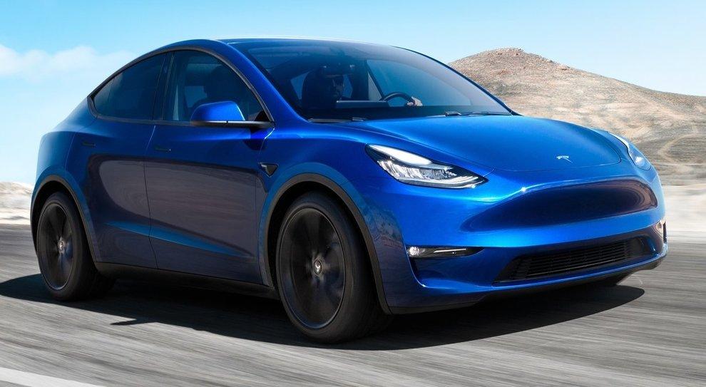 La Tesla Model Y che dovrebbe vedere la luce quest'anno