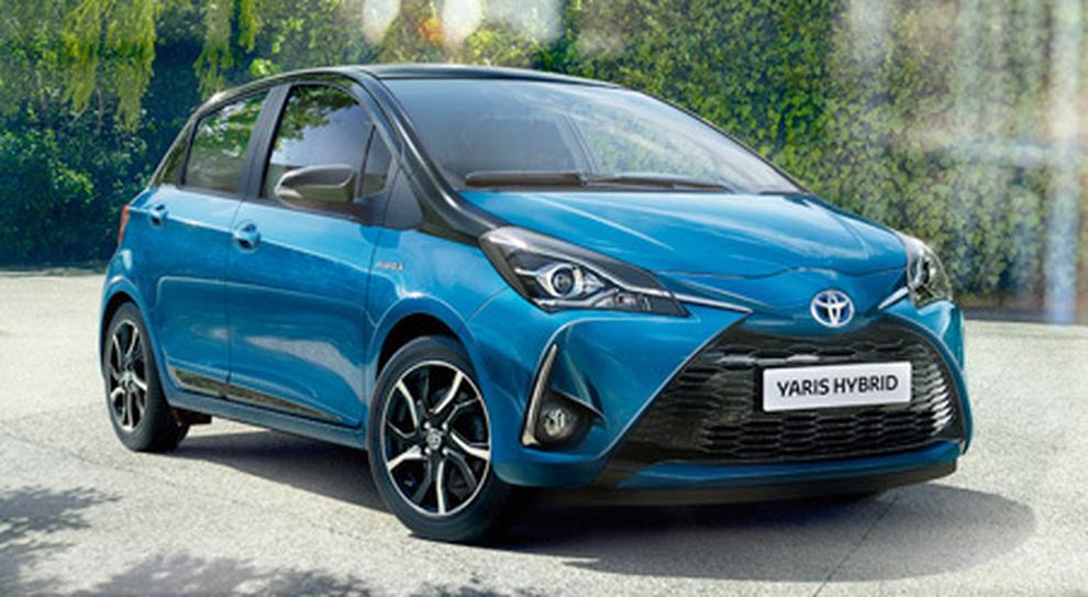 La Toyota Yaris Hybrid