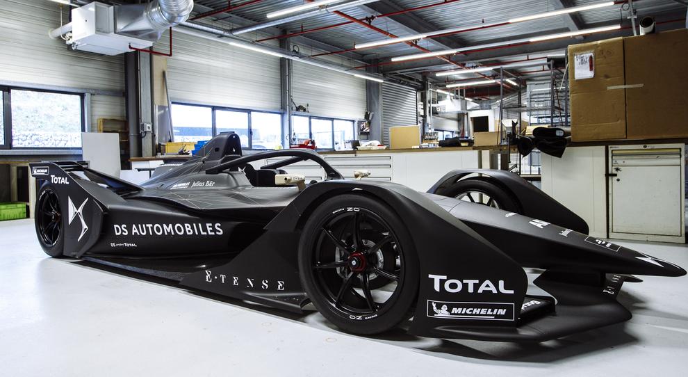 La DSV-03 di Formula E