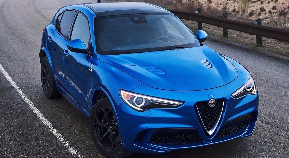 L'Alfa Romeo Stelvio in versione Quadrifoglio commercializzato negli Usa