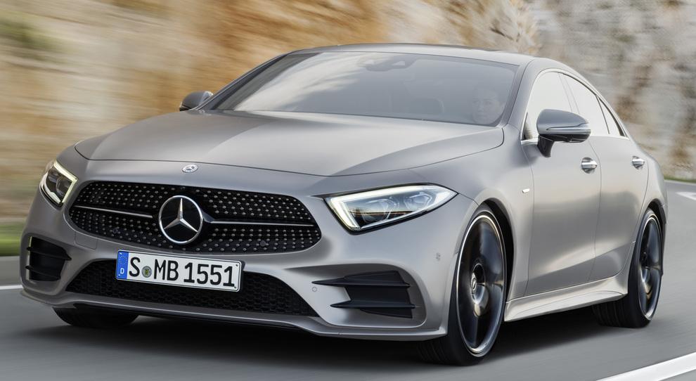 La nuova Mercedes CLS