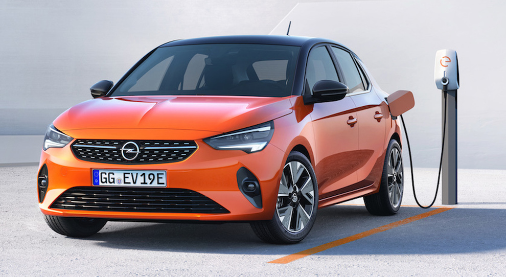 La Opel Corsa-e