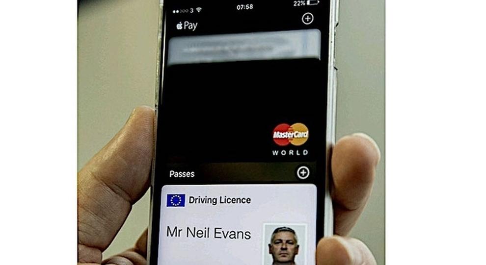 Il prototipo della patente digitale sullo smartphone