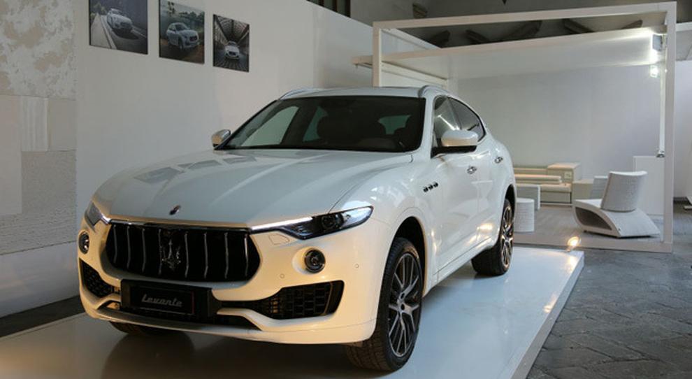 La Maserati lounge di Palazzo Cusani