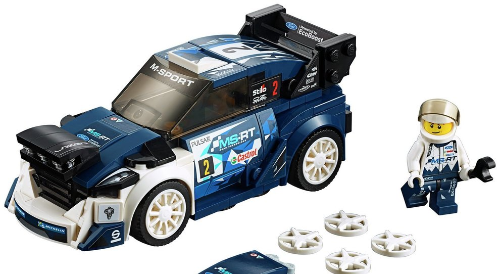 La Ford Fiesta WRC campione del mondo 2017 fatta coi mattoncini Lego