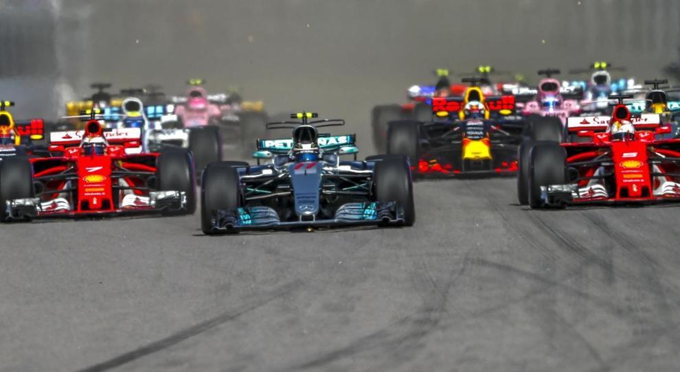 Un'immagine della scorsa stagione di Formula 1
