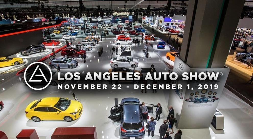 Una panoramica di uno dei padiglioni dello scorso Auto show di Los Angeles