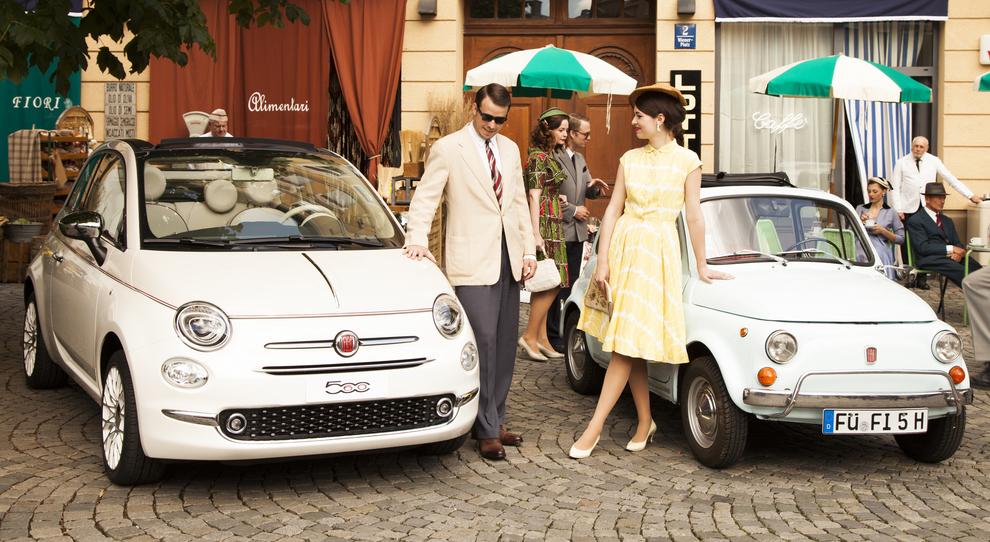 La Fiat 500 prodotta in 560 esemplari protagonista del tour Forever Young