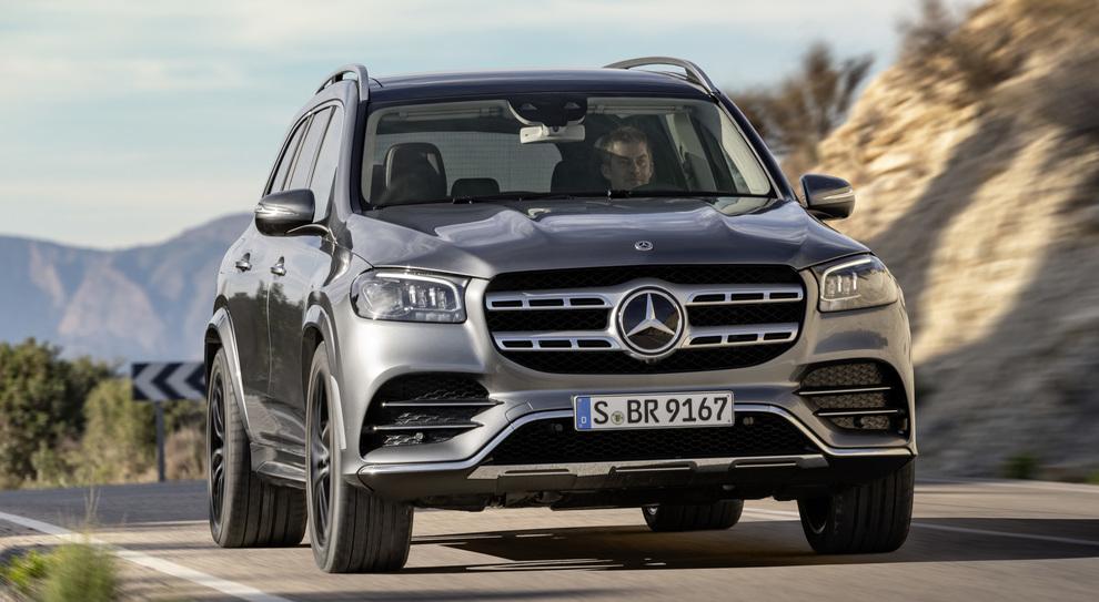 La nuova Mercedes GLS
