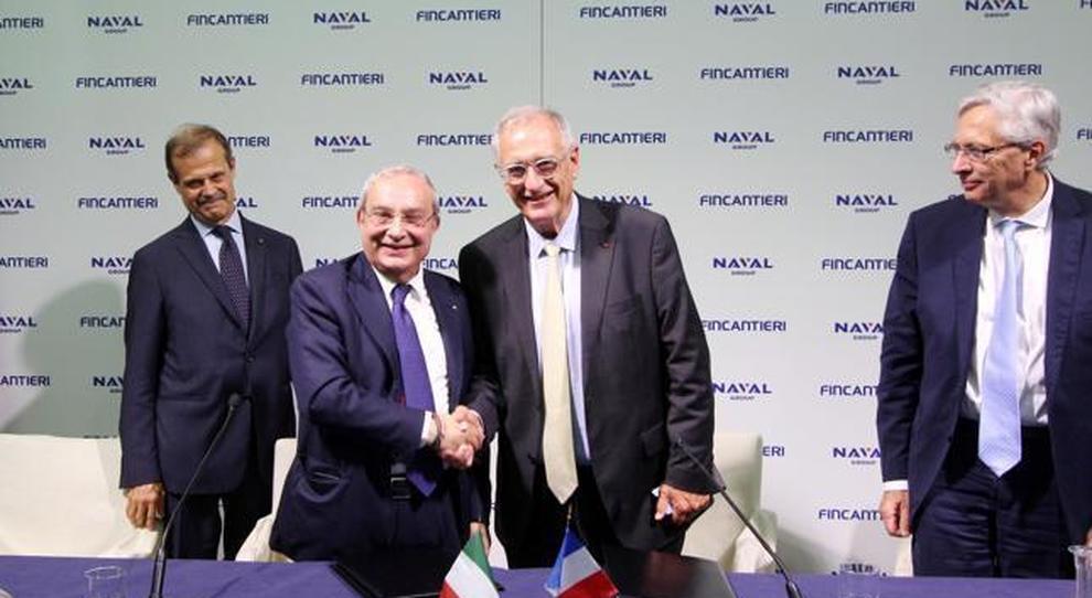 I ceo delle due società, Giuseppe Bono e Hervé Guillou