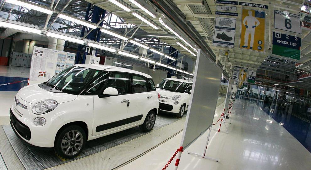Lo stabilimento in Serbia produce la 500L