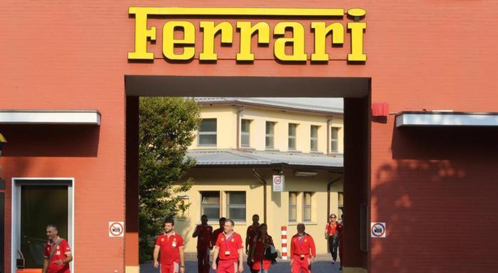 La sede della Ferrari a Maranello