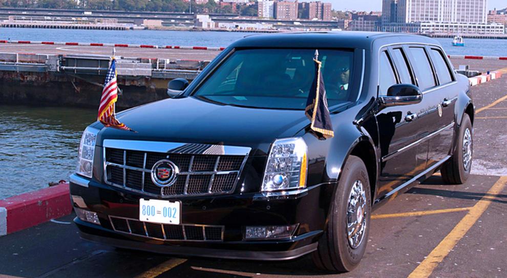 La Limousine presidenziale marchiata Cadillac. L'ultima versione della 'One' chiamata anche 'Beast' (cioè la Bestia visti il peso, le dimensioni e il livello di blindatura) è del 2018