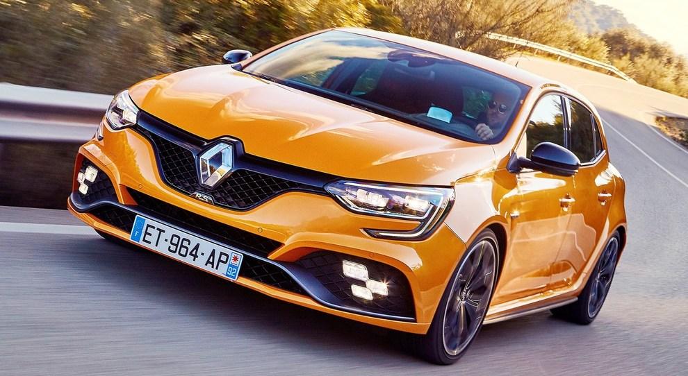 la nuova Renault Megane R.S.