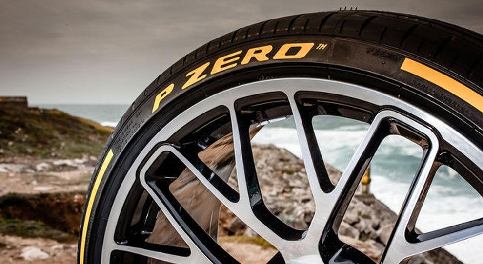 Gli pneumatici Pirelli PZero