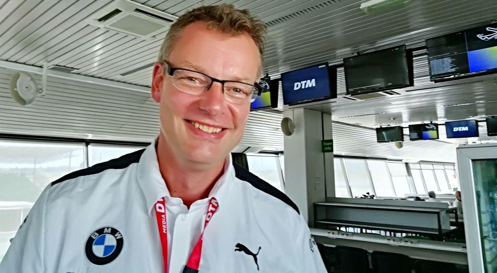 Joerg Kottmeier, manager della comunicazione della divisione Sport di Bmw