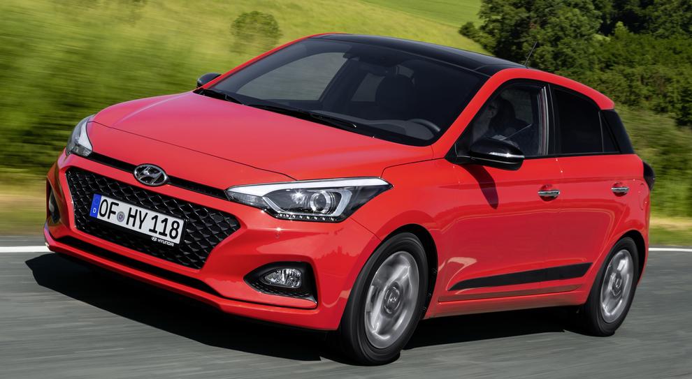 La rinnovata Hyundai i20