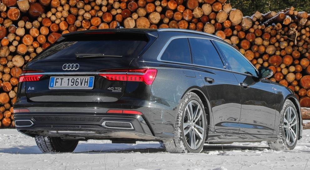 L'Audi A6 Avant