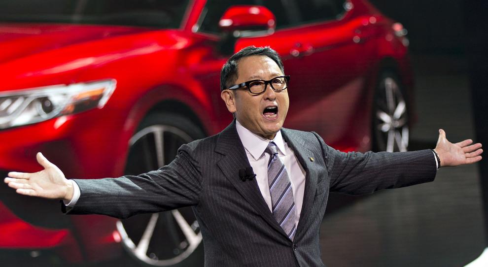 Akio Toyoda, il numero uno della Toyota