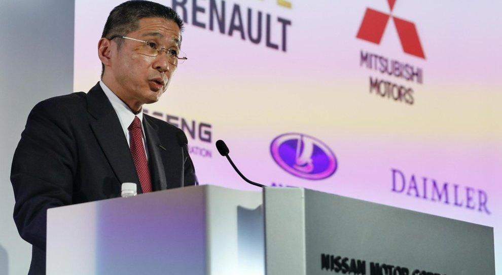 l'amministratore delegato dellaNissan, Hiroto Saikawa