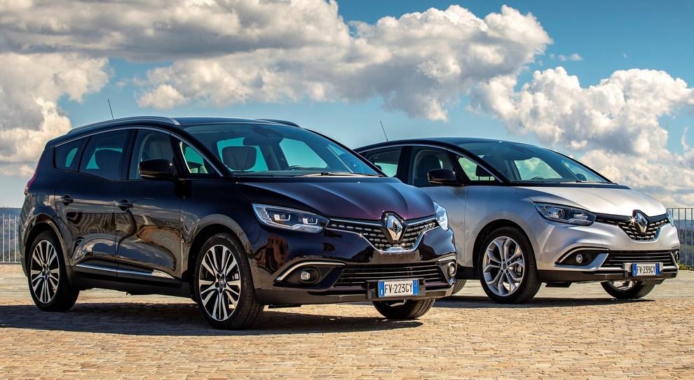Le Renault Scenic e Grand Scenic