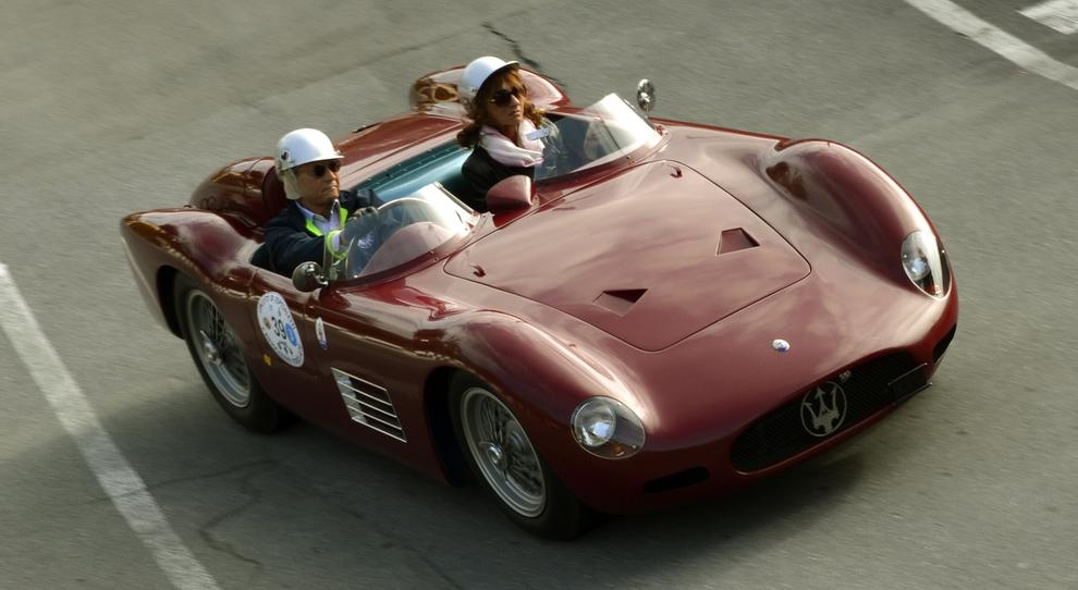 Un gioiello d'epoca Maserati nella prima edizione della Rievocazione