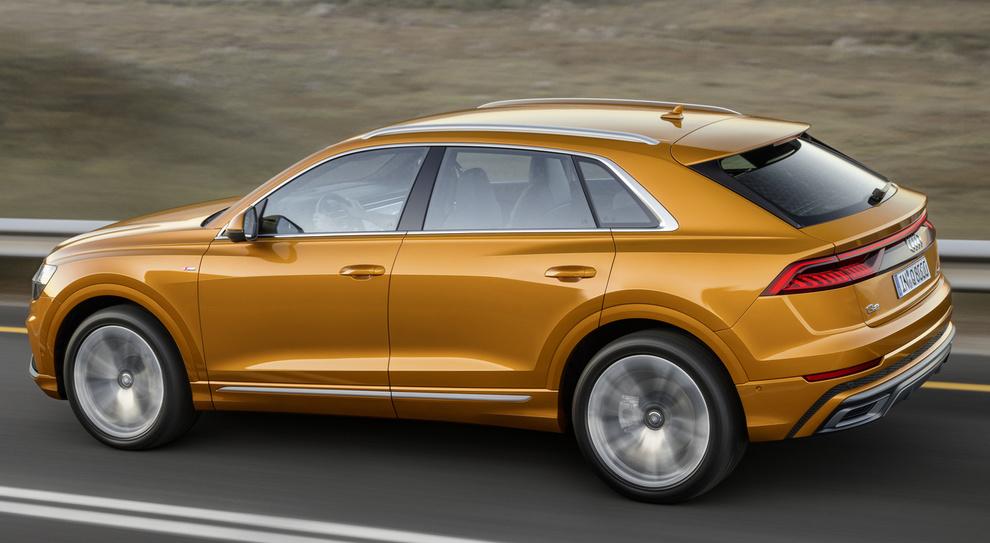 La nuova Audi Q8