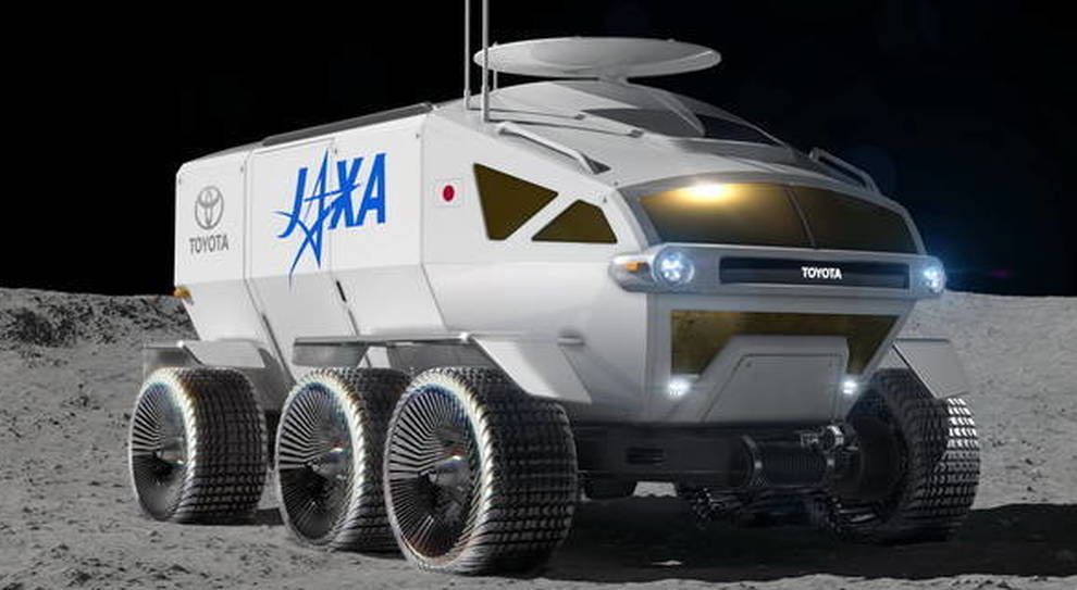 Ecco il Rover a 6 ruote di Toyota