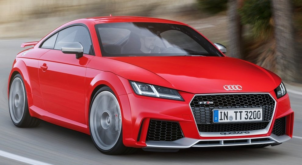 La Audi TT RS