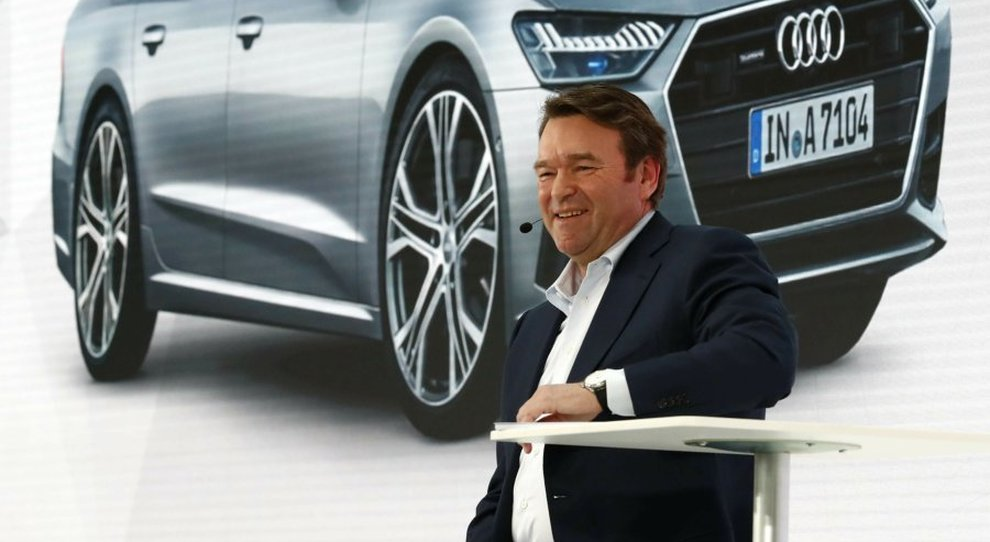 il Ceo di Audi Group Bram Schot
