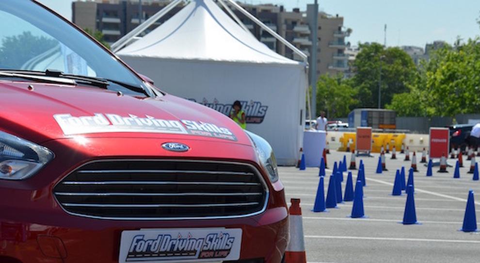 """Ford sempre in """"pole position"""" per sensibilizzare i giovani sulla sicurezza stradale"""