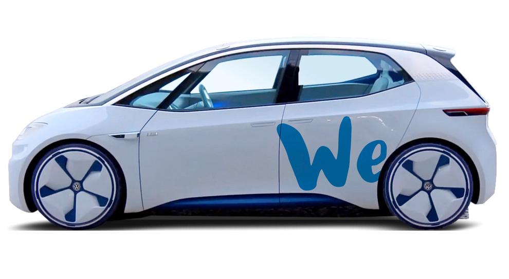 L'auto elettrica di Volkswagen con cui fornirà il servizio di car sharing