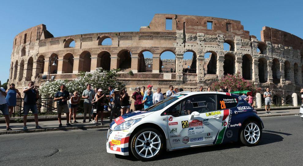 Andreucci-Castiglioni con la Peugeot 208