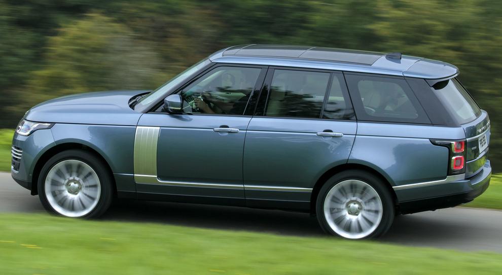 La nuova Range Rover Plug-in