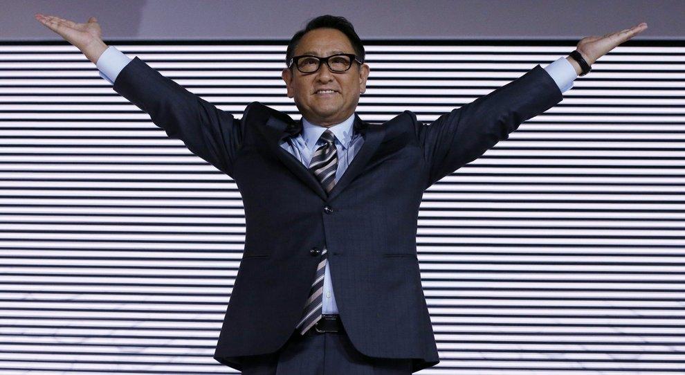 Akio Toyoda, presidente di Toyota Motor Corporation